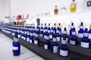 Fioles de parfum